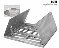 FCQH Hinge-Top Floor Scale
